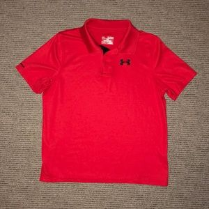 Under Armour polo shirt. Like new. Youth XL.